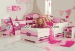 Kamar Set Anak Minimalis  Hello Kitty D 139