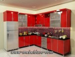KITCHEN SET MINIMALIS / FURNITURE HPL RUMAH D 786