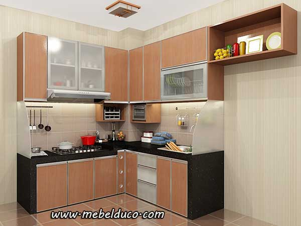 kitchen set minimalis modern d
