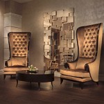 Set Sofa Wing Chair 1 Dudukan - SW02