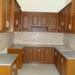 Kitchen Set Jati Jepara Top Marmer Asli Jepara KD 07